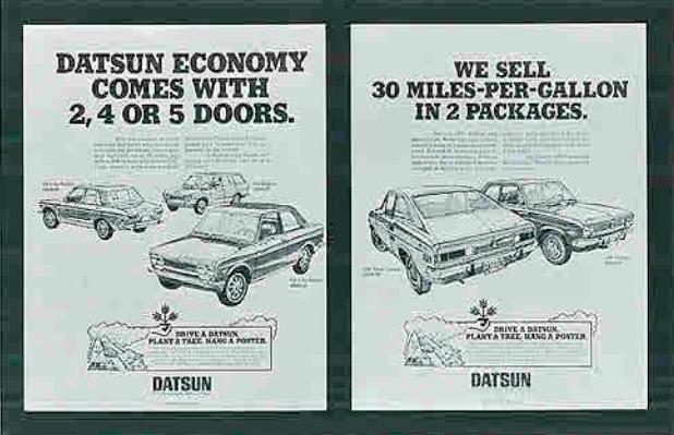 Nissan Drive a Datsun, Plant a Tree