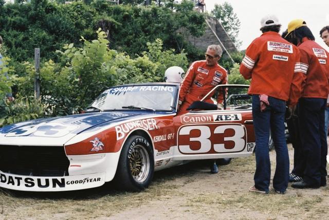 Paul Newman Datsun Z Bob Sharp