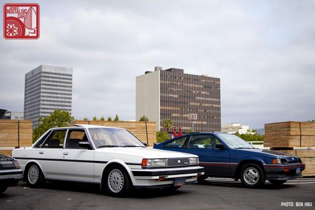 09_Toyota Cressida X70 & Honda CRX