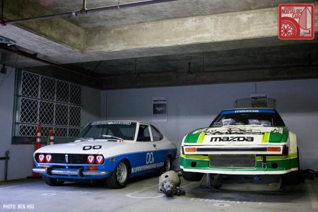 06_Mazda Basement RX2 Car&Driver & Daytona RX7_MakeModel