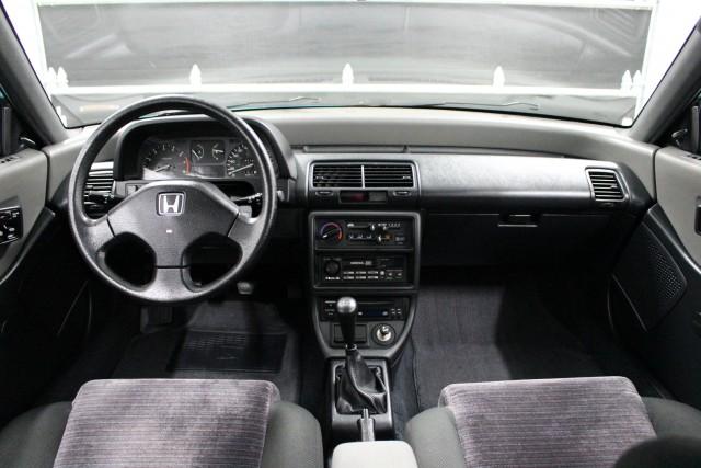 1991 Honda Civic Si Tahitian Green 26