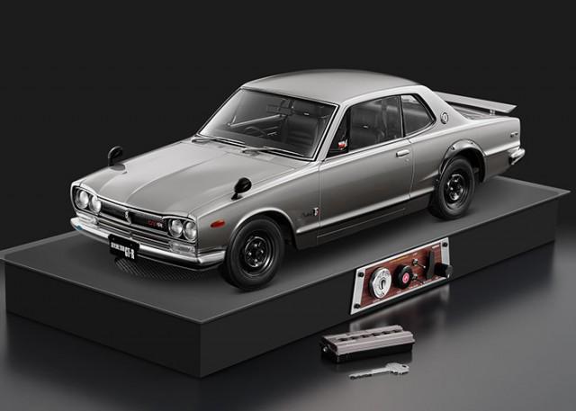 Nissan Skyline KPGC10 GT-R Hakosuka subscription model engine sound