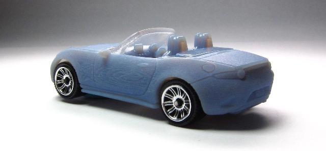 2016 Matchbox ND Mazda MX-5 Miata rear