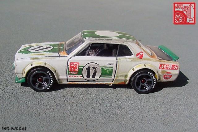 Hot Wheels JNC Nissan Skyline 2000GT-X Hakosuka patina 06