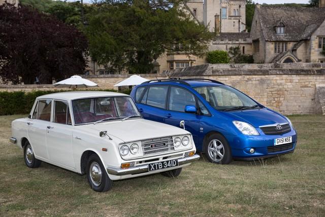 Toyota UK 50th Anniversary 16 Corona RT40 & Verso