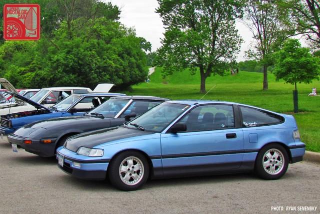 Honda CRX DX Side Team_Nostalgic Chicago