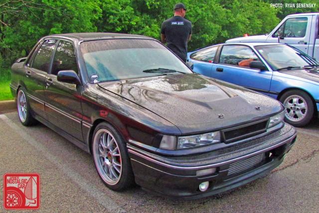 Mitsubishi Galant VR4 Front Three Quarter Team_Nostalgic Chicago