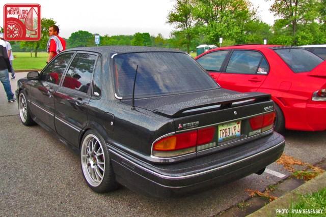 Mitsubishi Galant VR4 Rear Three Quarter Team_Nostalgic Chicago