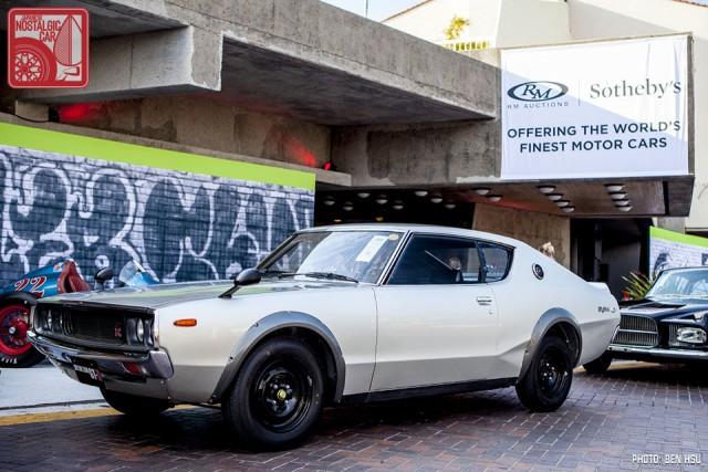 Nissan Skyline GT-R KPGC110 00127 auction 01