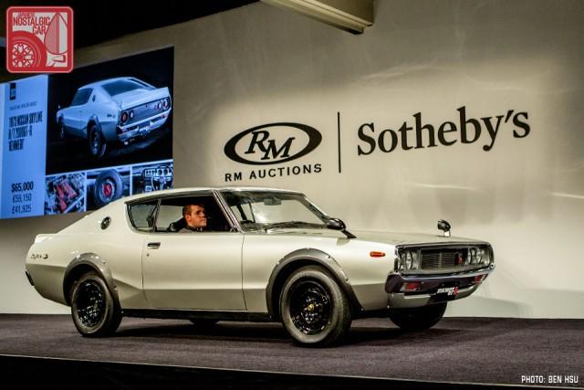 Nissan Skyline GT-R KPGC110 00127 auction 30