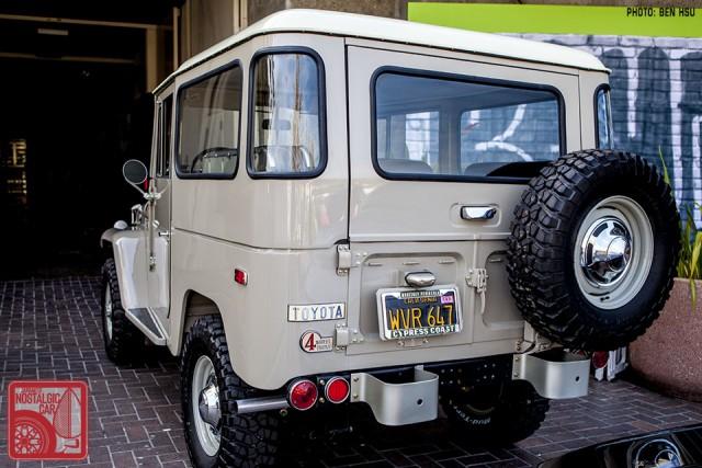 Toyota Land Cruiser FJ40 auction 34