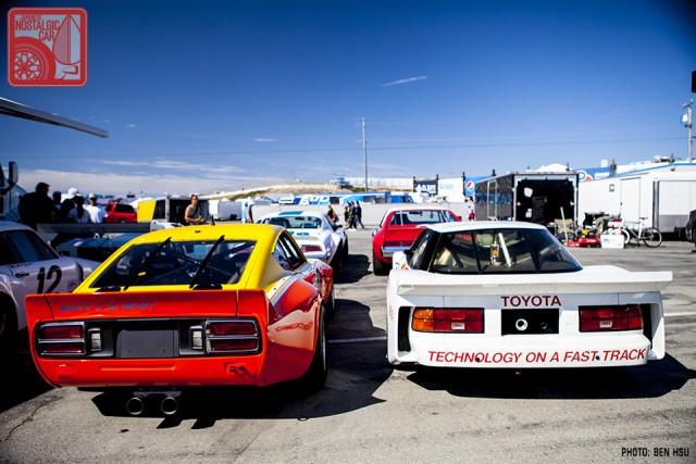 136_Datsun 240Z IMSA GTU & Toyota Celica T165 IMSA GTO