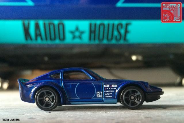 2016 Hot Wheels Nissan Fairlady Z - blue 01