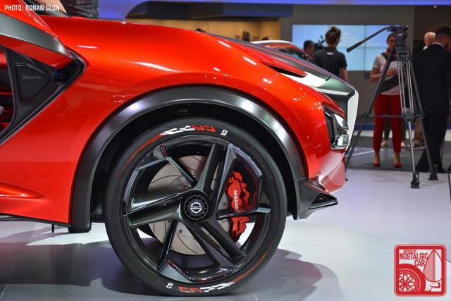 Nissan Gripz Datsun 240Z rally inspired concept RG02
