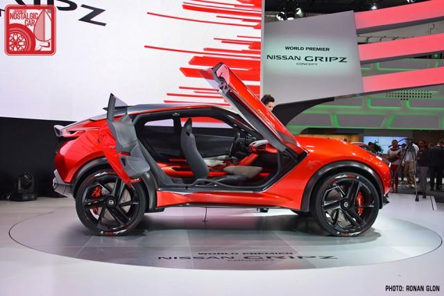 Nissan Gripz Datsun 240Z rally inspired concept RG03