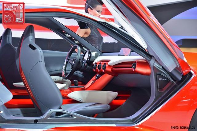 Nissan Gripz Datsun 240Z rally inspired concept RG04