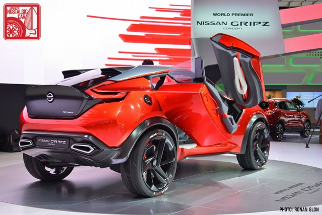 Nissan Gripz Datsun 240Z rally inspired concept RG07