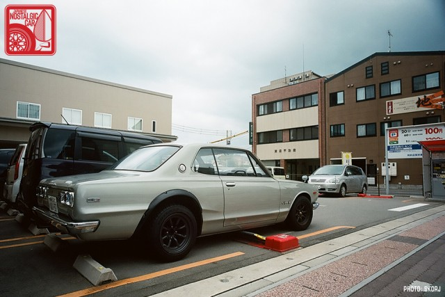 Parking in Japan 01 Coin Lot - Nissan Skyline KGC10 Hakosuka