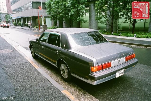 Parking in Japan 06 Yakuza - Toyota Century 02