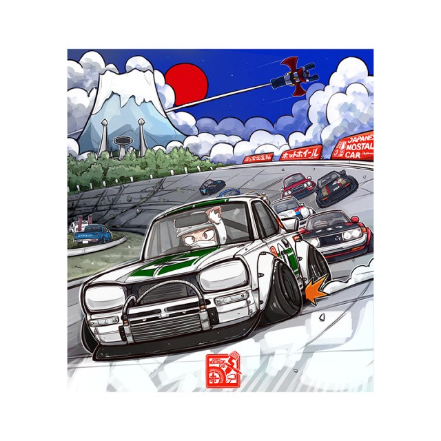 San Mamiya X JNC Fuji Speedway