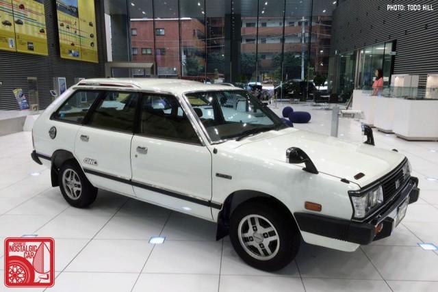 Subaru Leone Touring Wagon 4WD Ebisu HQ 01