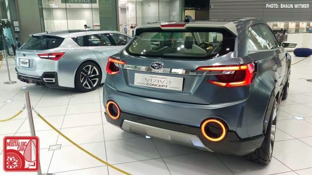 Subaru Viziv2 & Advanced Tourer concepts Ebisu HQ 02