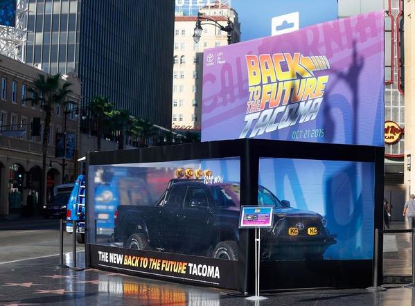 Back to the Future Toyota Tacoma LA