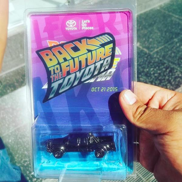 Back to the Future Toyota Tacoma diecast
