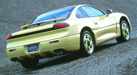 Dodge Stealth R:T yellow