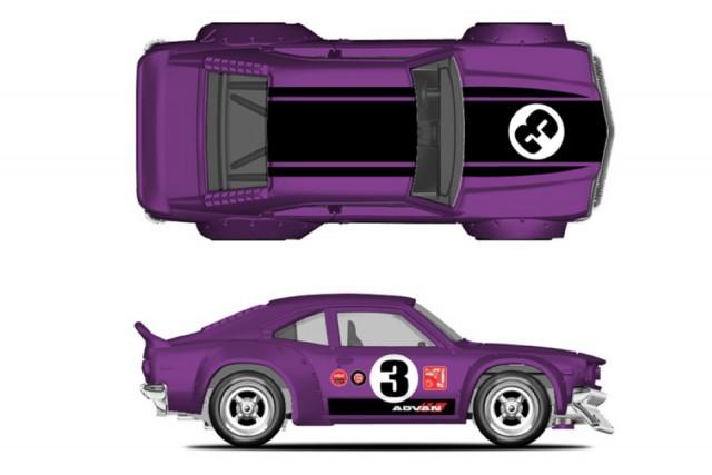 Hot Wheels Mazda RX-3 - Japan Historics