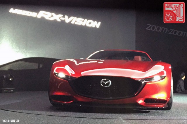 Mazda RX-Vision Concept rotary 2015 Tokyo Motor Show 04