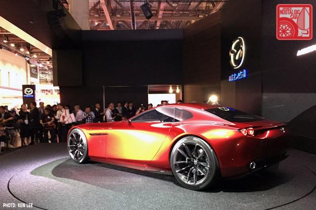 Mazda RX-Vision Concept rotary 2015 Tokyo Motor Show 05