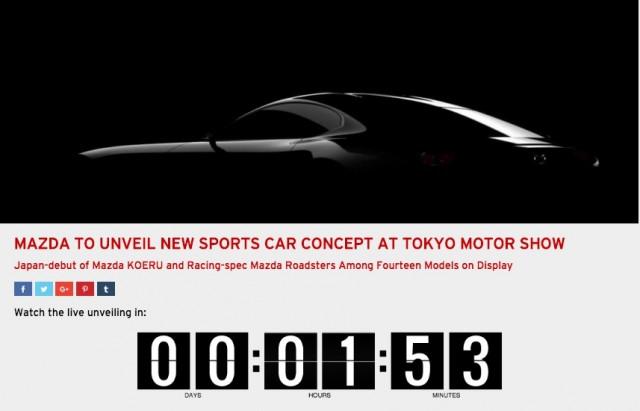 Mazda SkyActiv-R countdown