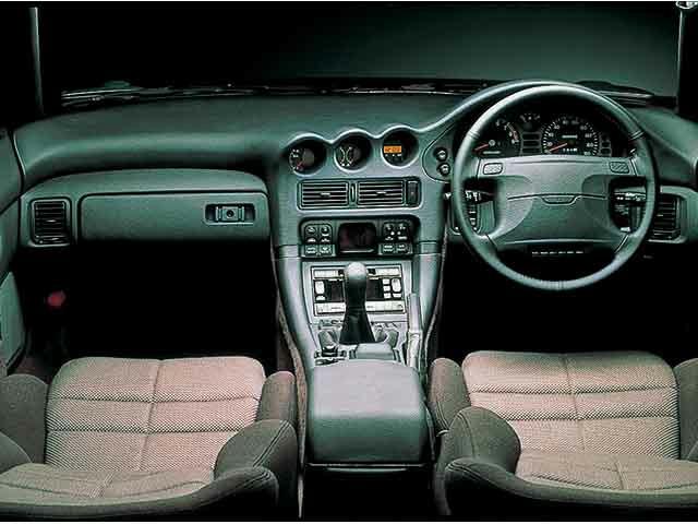 Mitsubishi GTO interior