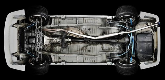 Tomei Toyota AE86 Titanium exhaust 05