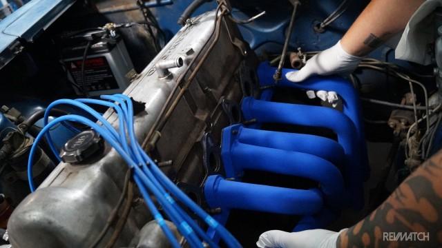 Trust Racing exhaust manifold S30 Z 06