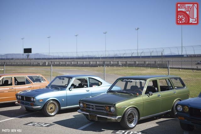 075 Mazda RX2 & Datsun 510 wagon rotary