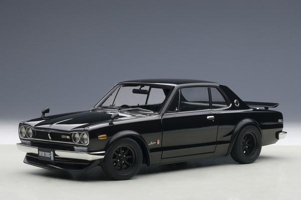 Autoart Nissan Skyline GT-R Hakosuka KPGC10 - black 01