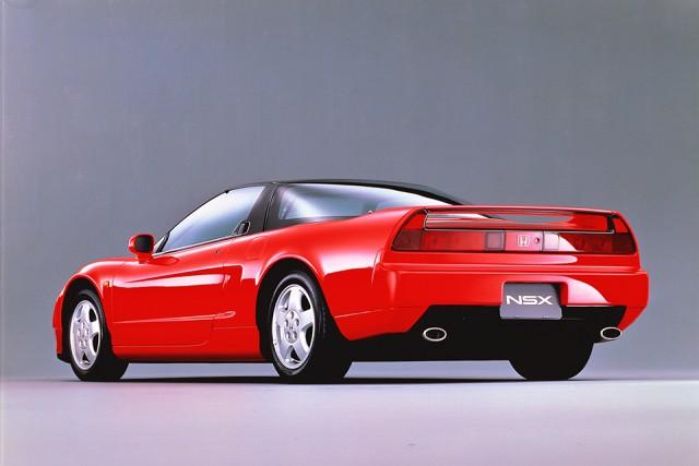 1990 Honda NSX back