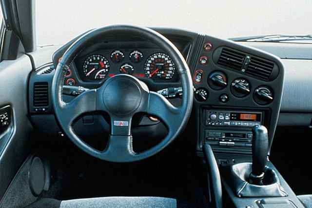 1990 Mitsubishi Eclipse interior