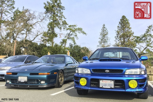 09-DY1778_Toyota Supra A70 & Subaru Impreza GC
