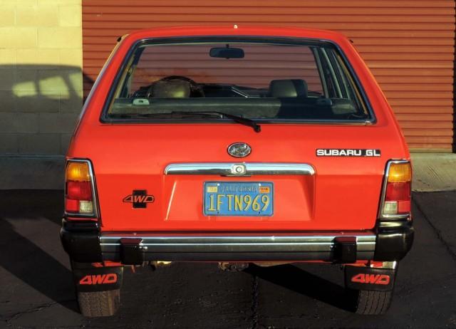 EA81 GL Wagon tailgate