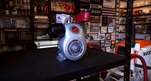 1962 Honda Cuby motor