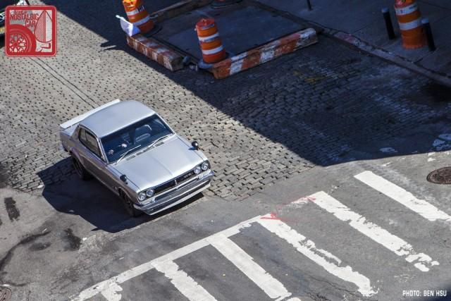 74_1971 Nissan Skyline GTR Hakosuka KPGC10 in NYC
