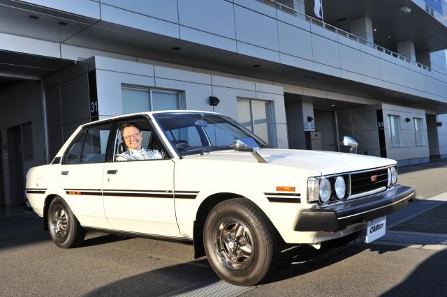 Akio Toyoda E30 Toyota Corolla