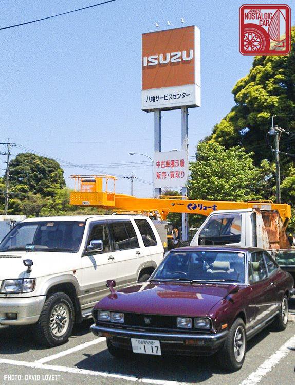 Isuzu 117 at service center