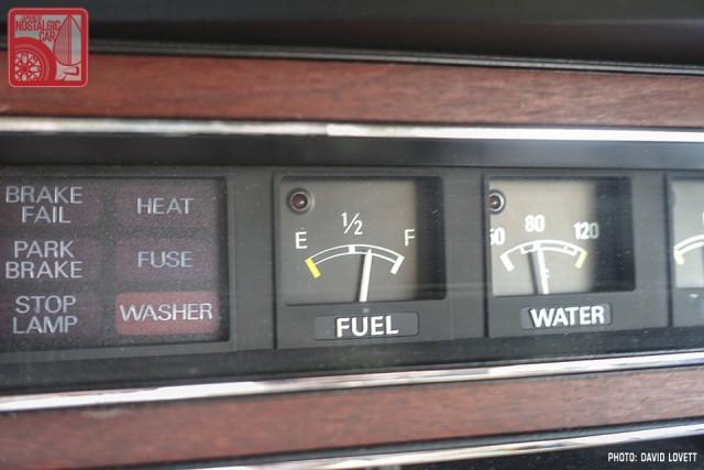 Isuzu 117 fuel gauge