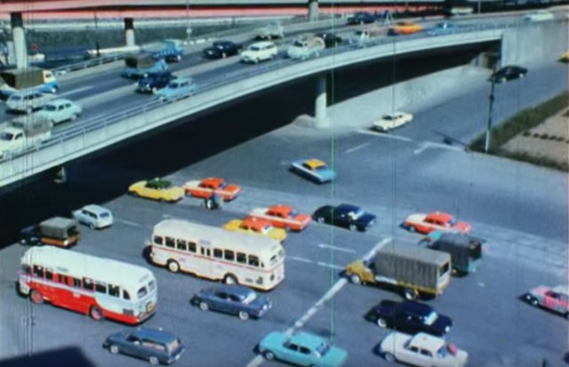 Japan in the 70s overpass
