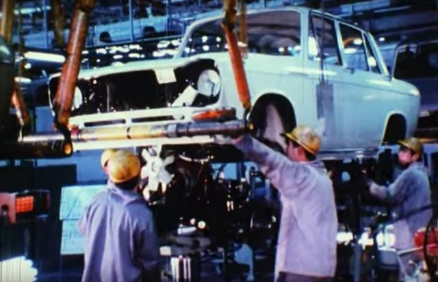 Mitsubishi factory 1960s