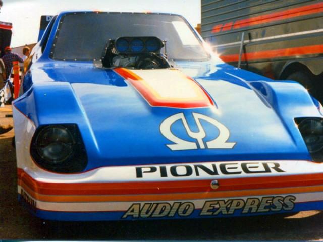 Datsun 280ZX Pioneer funny car